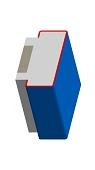 Umfassungszarge / Blockzarge als Durchgangszarge