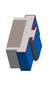 Umfassungszarge / Blockzarge als Doppeltürzarge