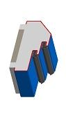 Umfassungszarge/Blockzarge mit Doppelfalz und schräger Leibung 5