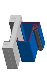 Blockzargen für Turnhallen